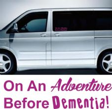 Adventure Before Dementia Sticker/Decal